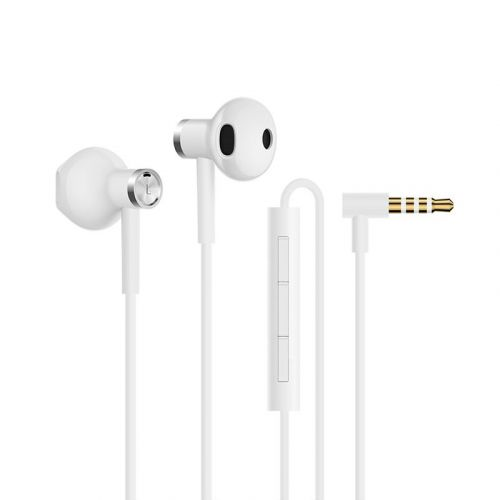 Ausinės Mi Dual Driver Earphones White