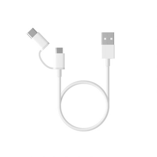 Kabelis Mi 2-in-1 USB Cable 100 cm