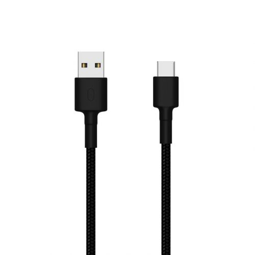Pintas kabelis Mi USB Type-C Braided Cable 100 cm Black