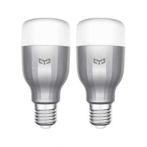 Išmaniosios lemputės Mi LED Smart Bulb (White & Color) (2-pack)